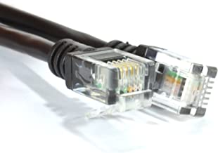 kenable ADSL 2+ High Speed Broadband Modem Cable RJ11 to RJ11 15m (~50 feet) Black