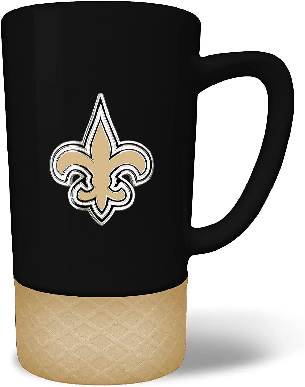 price Great American Products New Award Orleans Saints Team 15oz. Colored Ju