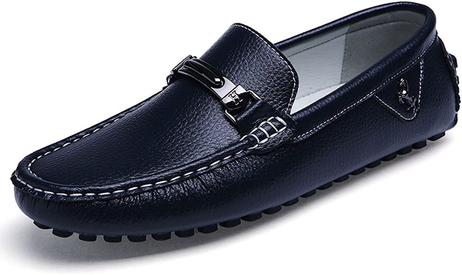 Leather Men's shoes Loafers Casual Driving shoes