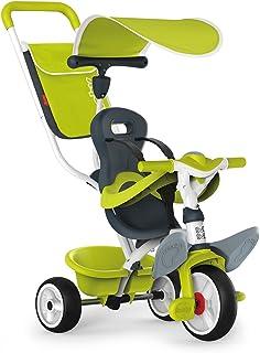 Baby Balade 2 verde con volquete y ruedas silenciosas de Smoby