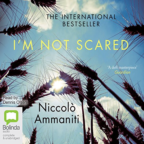 I'm Not Scared audiobook cover art