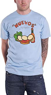 Meat Puppets T Shirt Huevos Band Logo Official Mens Blue