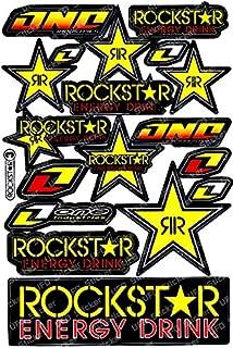 Rockstar Energy Drink Motorcross Race Logo Racing F1 Sticker Decal