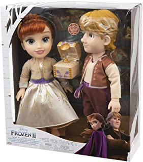 Precious Disney Frozen 2 Anna and Kristoff Games with Accessories