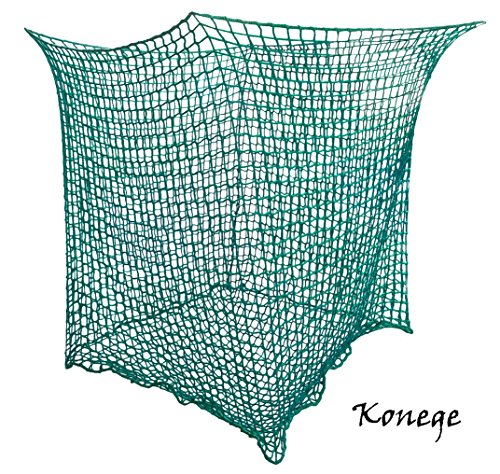 Konege Rundballenheunetz 1,4m x 1,4m x 1,6m, Mw 3,0cm, 4,0mm Kordelstärke, Heunetz - 2