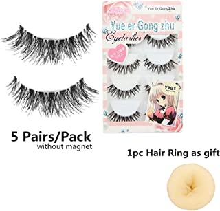 Voberry Women Gril Lady Big Sale! 5 Pair/lot Crisscross False Eyelashes Lashes Voluminous HOT Eye Lashes (Black)