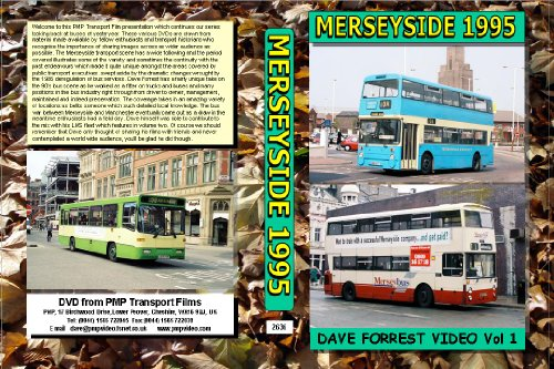 2636. Merseyside.UK. Buses. 1995 onwards. Mainly taken in 1995 in the Manchester / Liverpool bus war, lots of locations plus LMS Dave Forrests company,
