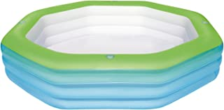 H2OGO! Deluxe Inflatable Octagon Family Pool