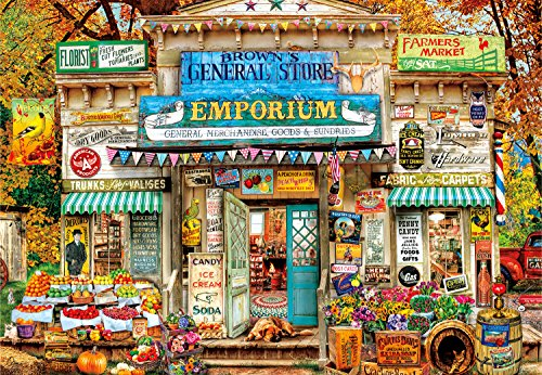 Buffalo Games – Aimee Stewart – Brown's General Store – 2000 Teile Puzzle
