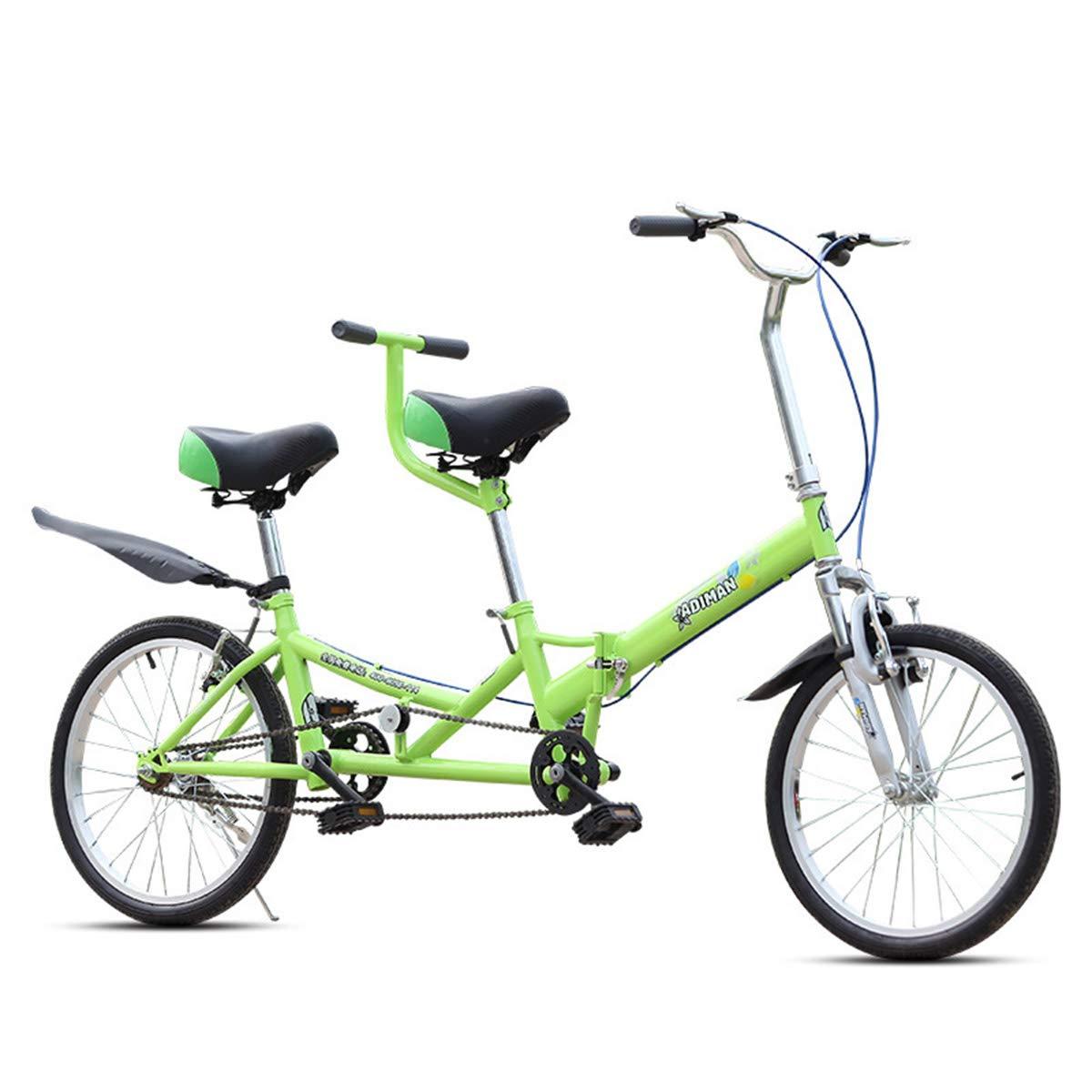 HBNW Bicicletas De La Ciudad Tándem De La Bicicleta De La Bici ...