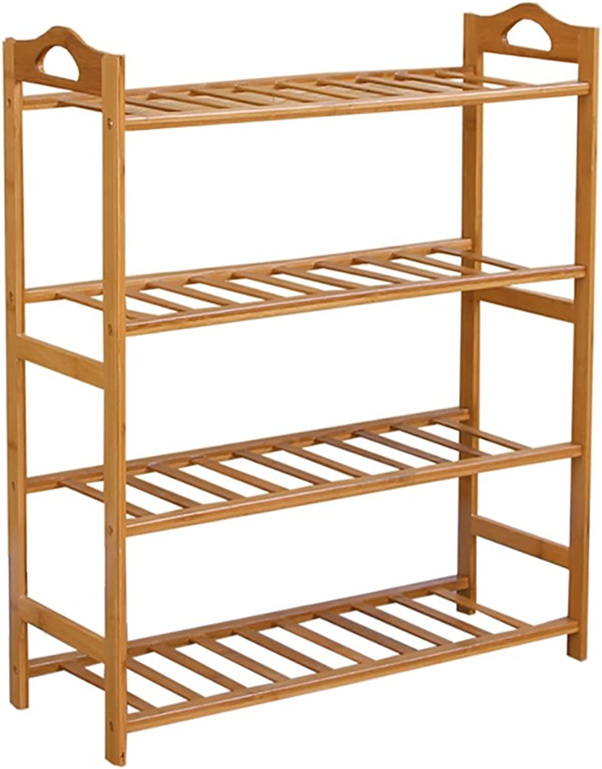 shoes Bench Organizing Rack Nanzhu Small shoes Rack Multi - Storey shoes Cabinet Solid Wood Storage shoes Rack j Simple Modern Assembly Living Room shoes Rack (Size   50cm)