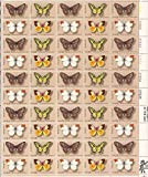 USPS Butterfly Series Sheet of 50 x 13 Cent US Postage Stamps Scott 1712-15