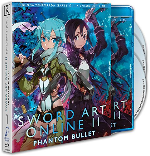 Sword Art Online Ii - T2 P1. Blu-Ray [Blu-ray]