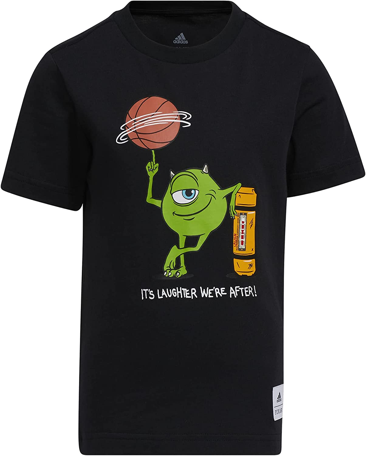 adidas Kids' Little Tee Canister 2021 new Very popular Laugh