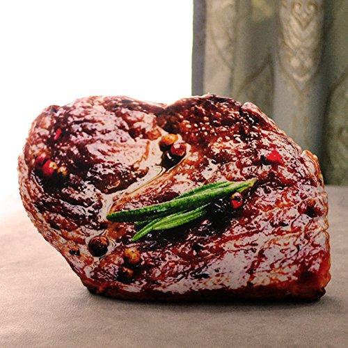 Yancyong Abnehmbaren Kissen Rippen, Steak (50 X 40 Cm)