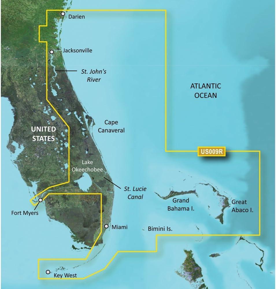 Garmin VUS009R - Jacksonville to Key West - SD Card