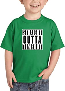 Straight Outta Timeout - Trouble Maker Infant/Toddler Cotton Jersey T-Shirt