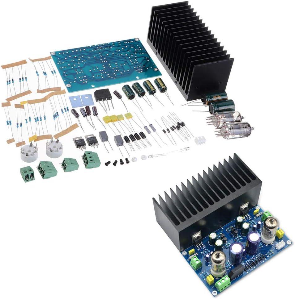 LanGuShi CC520 Tucson Mall DIY Kit Miami Mall AC18V HiFi Tube Amplifier El Board Vacuum