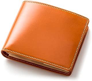 [ブリティッシュグリーン] 二つ折り財布 メンズ 英国伝統のブライドルレザー使用 本革 NEWモデル