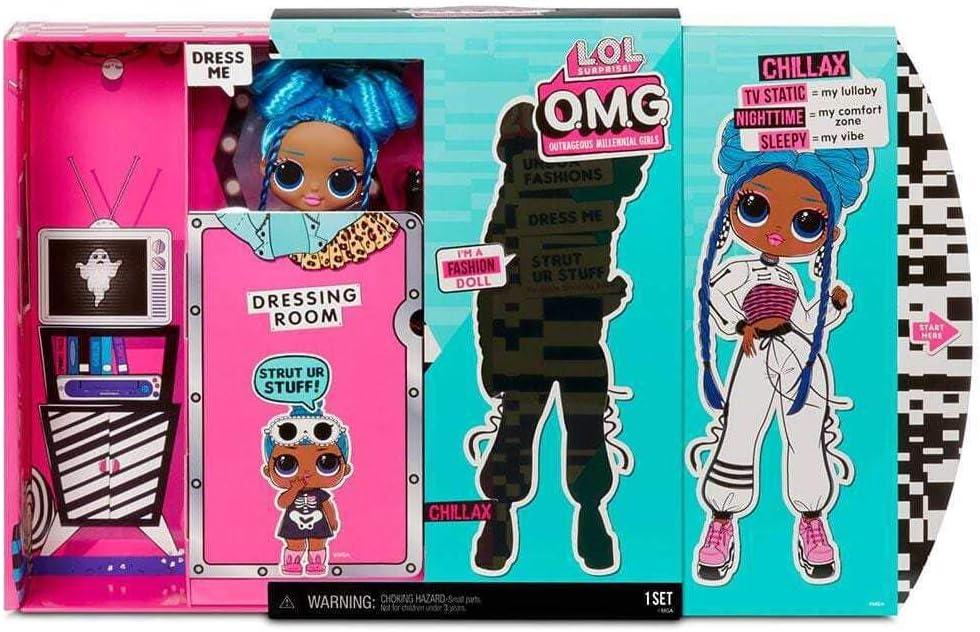 LOL Surprise NEW /& SEALED! 20 Surprises CHILLAX Fashion Doll OMG Series 3