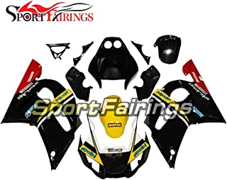 Sportbikefairings Injection Plastic ABS Full Fairings For Yamaha YZF600 R6 1998-2002 Year 98 99 00 01 02 Black Red Yellow Motorcycle Body Kits