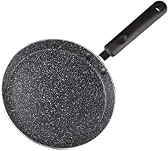 Long Handle Induction Cooker Breakfast Easy Clean Home Alluminum Alloy Thickened Frying Pan Kitchen Anti Slip Non Stick Om...