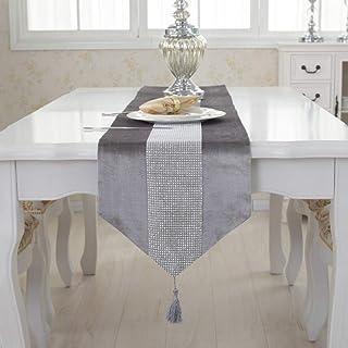 Linge de Table Decoration Table Salon Table décor Automne Chemin de Table Table à Manger pièce maîtresse Table à Manger Co...