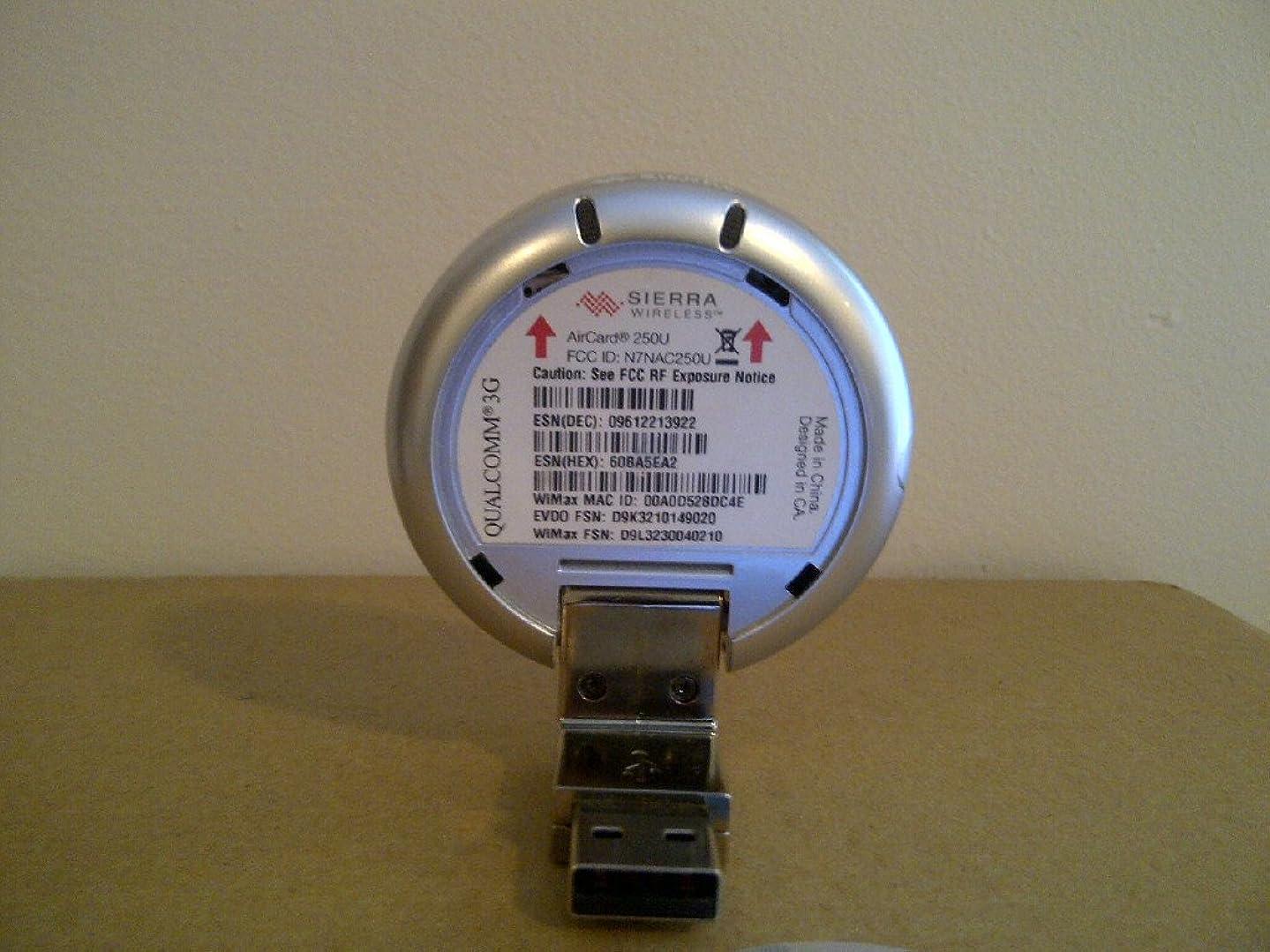 Sierra Wireless 4G Aircard 250U4G Wireless Modem Silver - Sprint