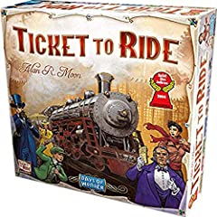 Ticket to Ride board game is a fantastic family game The original USA board in high resolution 225 colored train cars For 2-5 players Takes 30-60 minutes to play