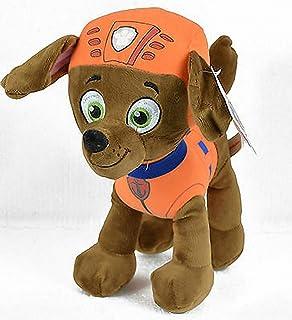 - Color Naranja Perro Raza Labrador Y SOCORRISTA Play by Play Peluche Personaje Zuma 20 CM DE PIE LA Patrulla Canina