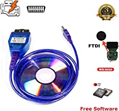 AntiBreak INPA K+ CAN Ediabas Cable with Switch DCAN Interface Coding Support E serials Interface for BMW R56 E87 E93 E70