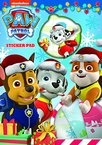 Disney- Paw Patrol Xmas kit de Stickers, PPXSTP