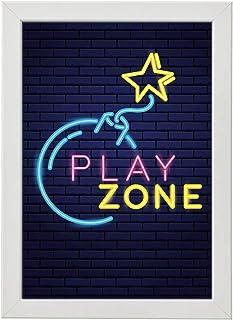 Gaming Wall Frame Photo - 30-20 cm, White - WGGZ-LO7ATI