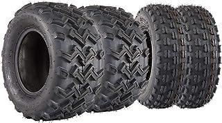 Full Set 22x8x10 22x10x10 XC ATV UTV Sport Tires 22x8-10 22X10-10, 4 PR, Tubeless