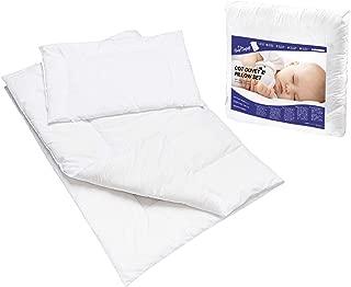 Anti Allergie Lit Bébé COUETTE OREILLER Nursery Pour Bébé Junior