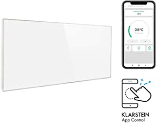 Klarstein Wonderwall Smart Radiateur infrarouge 60x120cm minuterie IP24 720W - blanc