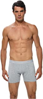 Gümüş İç Giyim Likralı Erkek Boxer 6 Lı Paket