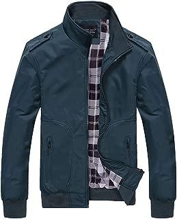Snowmolle New Mens Casual Jacket Outdoor Sportswear Windbreaker Lightweight Bomber Jackets and Coats Long Sleeve Tops