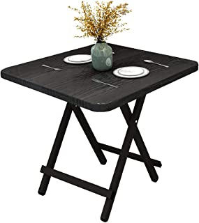 Foldable Table, Portable Camping Table, Indoor Household Dining Table Folding Table, Outdoor Leisure and Convenient Picnic...