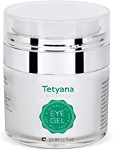 anti aging eye gel by Tetyana naturals