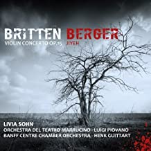 Britten: Violin Concerto Op.15 by Livia Sohn (2013-03-30)