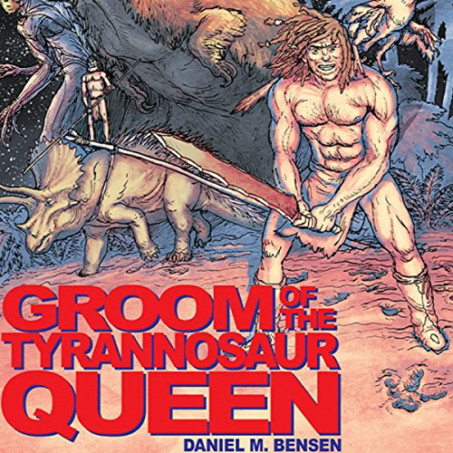 Groom of the Tyrannosaur Queen audiobook cover art