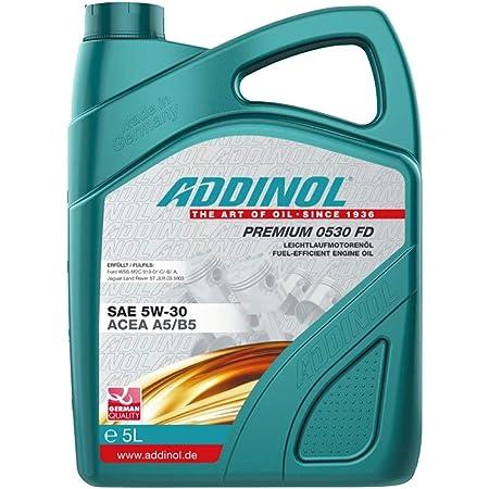 Addinol Motoröl Motorenöl Motor Motoren Motor Oil Engine Oil Benzin Diesel 5w 30 Premium 0530 Fd 5l 72102881 Auto