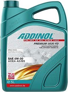 Addinol Motoröl Motorenöl Motor Motoren Motor Oil Engine Oil Benzin Diesel 5W 30 Premium 0530 FD 5L 72102881