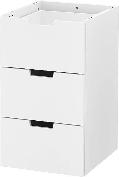 IKEA 803 834 67 Nordli Modular 3 Drawer Chest White