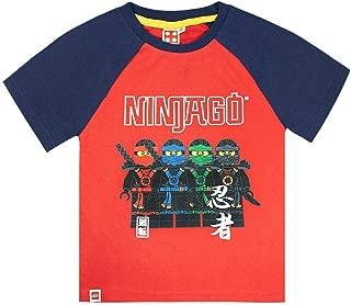 Official Lego Ninjago Characters Boys T-Shirt