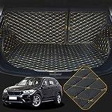 OREALTECH 3D Full Coverage Tappeti Tappeto Tappetini Tappetino Bagagliaio Auto Posteriore Baule Fodera Antiscivolo in Pelle XPE Trunk Mat Cargo Boot Liner per BMW X1 F48 2016-2019