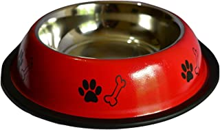 Foodie Puppies Stainless Steel Dog Food Bowl (Medium)