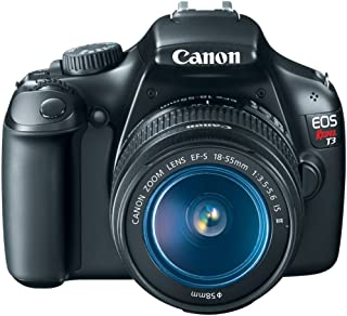 $399 » Canon EOS Rebel T3 Digital SLR Camera with EF-S 18-55mm f/3.5-5.6 IS Lens (discontinued by manufacturer) (Renewed)