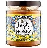 The Active Honey Co. Rainforest Honey 10+ Active con limón y vitamina D3 227g